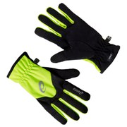 Asics Winter Running Gloves- Safety Yellow