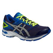 Asics Men's Gel Phoenix 7 Running Shoes - Indigo Blue/Silver/Flash Yellow