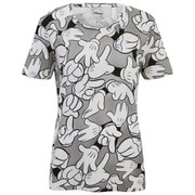 Eleven Paris x Disney Women's All Over Hand Print T-Shirt - Oland Print