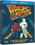 Back to The Future Trilogy - Zavvi Exclusive Limited Edition Steelbook Boxset (Limited to 1000)