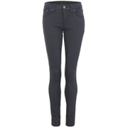 Nudie Jeans Women's Tight Long John Denim Jeans - Moog Grey