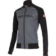 Castelli Meccanico Track Jacket - Grey/Black