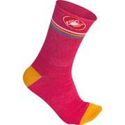 Castelli Women's Atelier 13 Socks - Pink