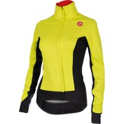 Castelli Women's Alpha Jacket - Yellow/Black