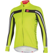 Castelli Free 3 Long Sleeve Jersey - Yellow/Grey