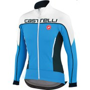 Castelli Mortirolo 3 Jacket - Blue/White/Black