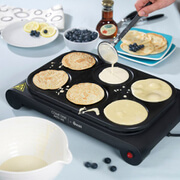 Swan SF23010CDWMN Pancake Maker and Party Wok