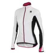 Sportful Women's Shell Jacket - White/Black