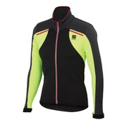 Sportful Alpe 2 Softshell Jacket - Anthracite/Black/Yellow Fluo