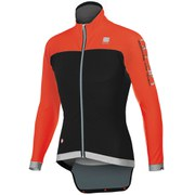 Sportful Fiandre No Rain Jacket - Black/Red Fire
