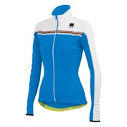 Sportful Women's Allure Softshell Jacket - Electric Blue/White