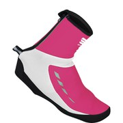 Sportful Roubaix Thermal Shoe Covers - Fuchsia/White