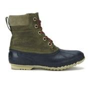 Sorel Men's Cheyanne Lace Full Frain Leather Boots - Sage