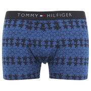 Tommy Hilfiger Men's Star Print Trunk Boxer Shorts - Turkish Sea