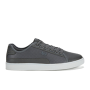 Beck & Hersey Men's Remis Perforated Trainers - Grey
