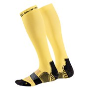 Skins Men's Essentials Active Compression Socks - Yellow/Black