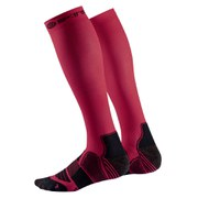 Skins Men's Essentials Active Compression Socks - Red/Black