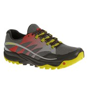 Merrell Men's All Out Charge Running Shoes - Molten Lava/Yellow