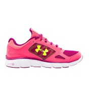 Under Armour Women's Micro G Assert V Running Shoes - Pink/White/Grey
