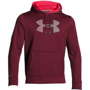 Under Armour Men's Big Logo Hoody - Deep Red