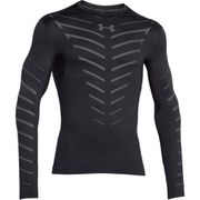 Under Armour Men's ColdGear Infrared Compression Crew Top - Black
