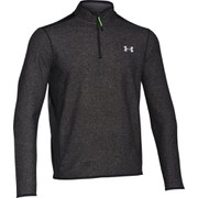 Under Armour Men's ColdGear Infrared Survival Long Sleeve 1/4 Zip Fleece - Black