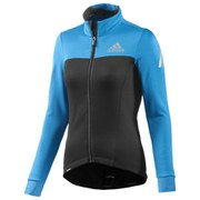 adidas Women's Supernova Long Sleeve Jersey - Black/Blue