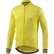 adidas Men's Adistar Belge Long Sleeve Jersey - Yellow