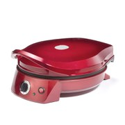Gourmet Gadgetry Retro Diner Pizza Oven and Multi Grill - Red