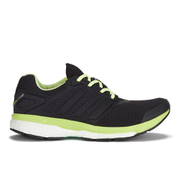 adidas Women's Supernova Glide Boost 7 Running Shoes - Black/White/Yellow