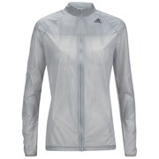 adidas Women's Adizero Ghost Running Jacket - Grey/Black
