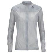 adidas Women's Adizero Ghost Running Jacket - Grey/Black
