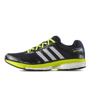 adidas Men's Supernova Glide Boost 7 Running Shoes - Navy/White/Yellow