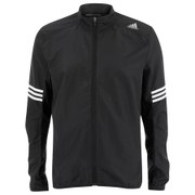adidas Men's Response Wind Running Jacket - Black