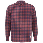 Penfield Men's Kemsey Quilted Long Sleeve Shirt - Red