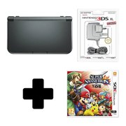 New Nintendo 3DS XL Metallic Black + Super Smash Bros. for 3DS