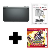 New Nintendo 3DS XL Metallic Black + Pokémon Omega Ruby