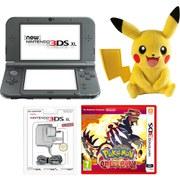 New Nintendo 3DS XL Metallic Black + Pokémon Omega Ruby