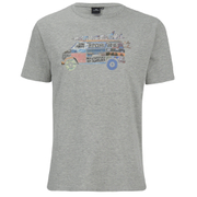 Rip Curl Men's Surf Van Print T-Shirt - Cement Marl