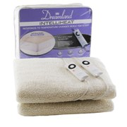 Dreamland 16212 Intelliheat Soft Fleece Electric Under Blanket - Double
