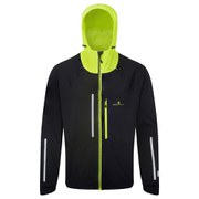 RonHill Men's Vizion Storm Jacket - Black/Yellow
