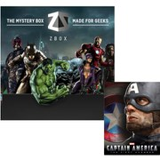 Heroes & Villians ZBOX With Captain America: The First Avenger 3D Exclusive Lenticular Steelbook