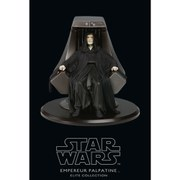 Attakus Star Wars Elite Collection Emperor Palpatine With Imperial Throne 8 Inch Statue (Limited to 2000 pieces worldwide)
