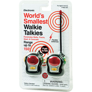 World's Smallest Walkie Talkies