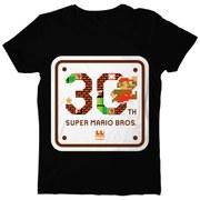 Super Mario Bros. 30th Anniversary T-Shirt - L