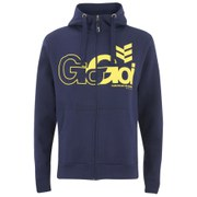 Gio-Goi Men's Lancer Zip Through Hoody - Navy