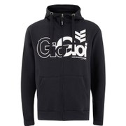 Gio-Goi Men's Lancer Zip Through Hoody - Black