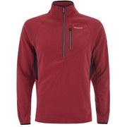 Craghoppers Men's Jasper Half Zip Fleece - Red
