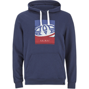 Animal Men's Hills Graphic Print Hoody - Indigo Blue