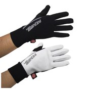 Santini Krios Windstopper Xfree Gloves - Black